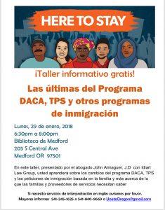 DACA Workshop